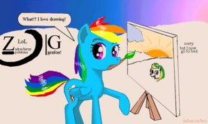 Rating: Safe Score: 0 Tags: animal /bro/ character_request collective_drawing crossover flockdraw has_child_posts iipony madskillz mare mascot multicolored_hair my_little_pony my_little_pony_friendship_is_magic no_humans pegasus pony rainbow_dash sketch style_parody tagme wakaba_colors wings User: (automatic)Anonymous