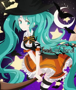 Rating: Safe Score: 0 Tags: aqua_eyes aqua_hair bat bow broom flying halloween hat hatsune_miku long_hair moon night outdoors sky star stars striped thighhighs twintails very_long_hair vocaloid witch_hat User: (automatic)Anonymous