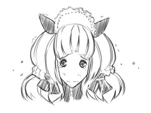 Rating: Safe Score: 0 Tags: animal_ears crying hon-hon long_hair maid maid_headdress maid_outfit monochrome oxykoma_(artist) sketch tears User: (automatic)Anonymous