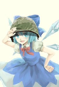 Rating: Safe Score: 0 Tags: blue_eyes blue_hair bow cirno dress helmet main_page military photoshop short_hair simple_background touhou transparent_background wings User: (automatic)Anonymous