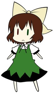 Rating: Safe Score: 0 Tags: bow brown_hair chibi cirno colored crossover heterochromia photoshop rozen_maiden suiseiseki touhou User: (automatic)Anonymous