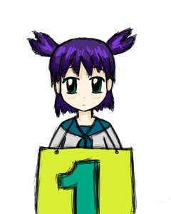 Rating: Safe Score: 0 Tags: 1 green_eyes happy_birthday holding_tablet purple_hair sauce_(artist) school_uniform twintails unyl-chan User: (automatic)timewaitsfornoone