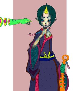 Rating: Safe Score: 0 Tags: 1boy bat blue_eyes green_hair hoozuki hoozuki_no_reitetsu horn horns japanese_clothes kiseru male oni pipe pointy_ears short_hair solo traditional_clothes weapon User: (automatic)Anonymous