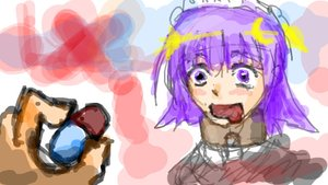 Rating: Safe Score: 0 Tags: do_want futaba_channel maid maid_headdress multator nijiura_maids oekaki pill purple_eyes purple_hair short_hair sketch yakui User: (automatic)nanodesu