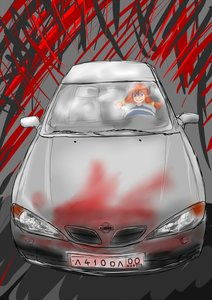 Rating: Safe Score: 0 Tags: blood blue_eyes car evil_smile red_hair sketch smile twintails ussr-tan User: (automatic)nanodesu