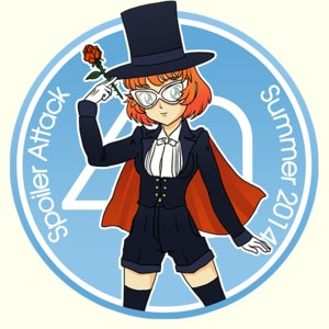 Rating: Safe Score: 0 Tags: 1girl bishoujo_senshi_sailor_moon cape cosplay flower glasses gloves green_eyes hat momo-tan orange_hair peach_hair rose rudik_(artist) shorts solo spoiler_attack thighhighs top_hat tuxedo_mask User: (automatic)Anonymous
