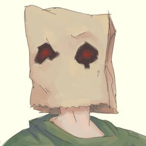 Rating: Safe Score: 0 Tags: anonymous bag_on_head has_child_posts portrait simple_background solo transparent_background User: (automatic)Anonymous