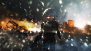 Rating: Safe Score: 0 Tags: 2032 3d armor asgu fire glowing_eyes gun highres outdoors pioneer_necktie red_eyes sci-fi short_hair wallpaper weapon white_hair User: (automatic)Anonymous