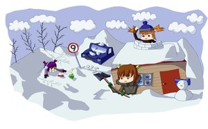 Rating: Safe Score: 0 Tags: :< ⑨ :3 banhammer-tan b-fractal_(artist) bizarre bow brown_hair car cirno cloud dvach-tan green_eyes hat headphones house long_hair orange_hair purple_hair red_eyes shovel sky smile snow snowman touhou traffic_sign tree twintails unyl-chan winter winter_clothes User: (automatic)timewaitsfornoone