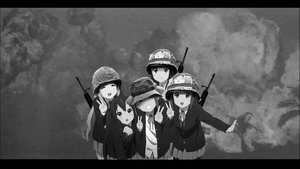 Rating: Safe Score: 0 Tags: akiyama_mio explosion helmet hirasawa_yui k-on! kotobuki_tsumugi military monochrome multiple_girls nakano_azusa photo photoshop smile tainaka_ritsu v vietnam weapon User: (automatic)Anonymous
