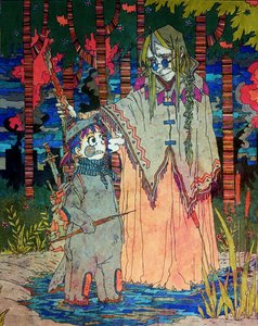 Rating: Safe Score: 0 Tags: 2girls alternate_costume animal_costume animal_ears bomb-chan braid cigarette fantasy forest glasses green_eyes green_hair long_hair old outdoors purple_hair red_eyes russian smoking sword tagme tail traditional_media twintails unyl-chan water weapon wolf User: (automatic)nanodesu