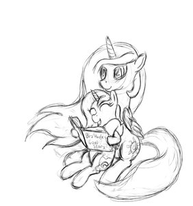 Rating: Safe Score: 0 Tags: alicorn animal /bro/ filly fim horns mare mlp mlp:fim monochrome my_little_pony no_humans pony princess_celestia princess_luna shipping simple_background sitting sketch wings User: (automatic)Anonymous