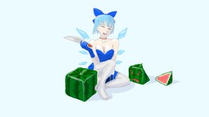 Rating: Safe Score: 0 Tags: blue_eyes blue_hair cirno parody watermelon User: (automatic)Anonymous