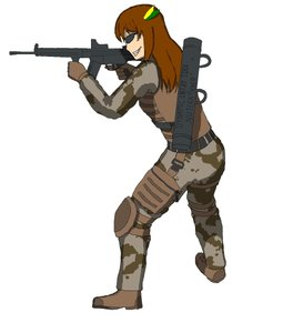 Rating: Safe Score: 0 Tags: ballistic_vest banhammer-tan camouflage dynamic_entry_tool g3a3 grin knee_pads sunglasses trigger_discipline weapon User: (automatic)yesterdayisawadeer