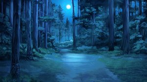 Rating: Safe Score: 0 Tags: background eroge forest full_moon highres moon nature night no_humans outdoors summer tree User: (automatic)Anonymous
